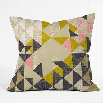 Pattern State Nomad Quilt Outdoor Throw Pillow