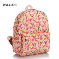 Butterfly Canvas Stylish Casual Fashion Travel Backpack = 4887814852