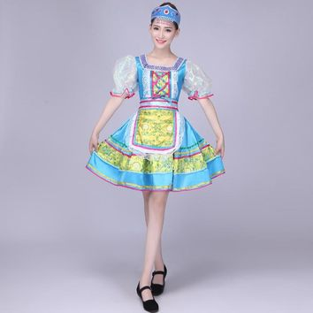 folk dance costumes classical woman traditional russian costume chinese for kids dance children girls national for china dress