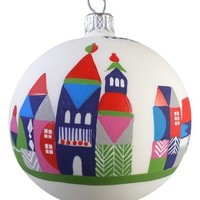 Nordstrom at Home 'Village' Handblown Glass Ball Ornament | Nordstrom