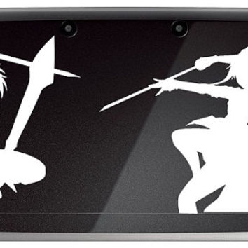 Sword Art online Kirito and Asuna- Anime Decal for Nintendo 3ds, Macbooks, Laptop, iPhone, XBox, Playstation, Cars, Windows, Wall