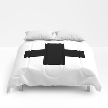 Swiss Cross Comforters by New Wave Studio