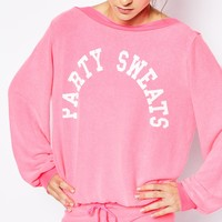 Wildfox Essentials Party Sweats Brunch Jumper