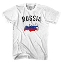Russia Flag & Country T-shirt