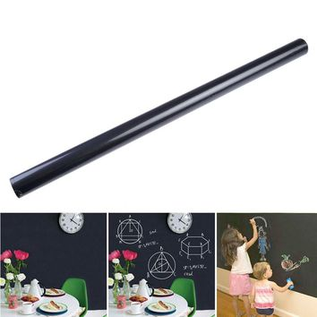 Environmental Protection PVC Removable 60 x 200cm Large Blackboard Wall Sticker Chalkboard Decal +Chalks Plane Wall Sticker