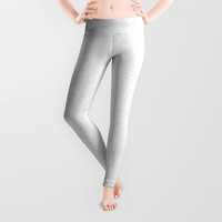 Catskill White Leggings by deluxephotos