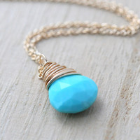 Sleeping Beauty Turquoise Solitaire