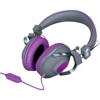 Dreamgear Hm-260 Headphones With Microphone (purple)