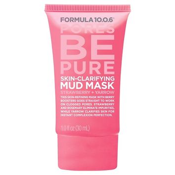 Formula 10.0.6® Clarifying Mud Mask - Strawberry Yarrow - 1 oz