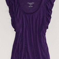 AEO Women's Festival Tee (Purple)