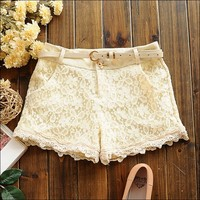 A 071825 Women's casual pants shorts shorts