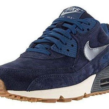 Nike Women's Air Max 90 Prm Suede Running Shoe