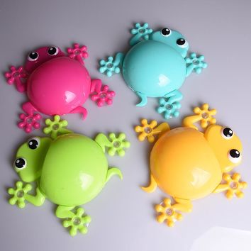 Creative Bathroom Products Sets kids Cartoon Gecko Toothbrush Toothpaste Holder Wall Sucker Suction Hook Tooth Brush Holder