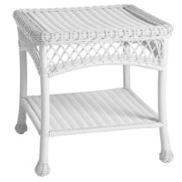Santa Barbara End Table - White