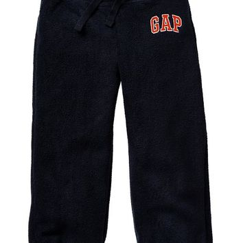 Gap Baby Factory Arch Logo Fleece Pants