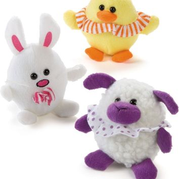 plush easter egg character Case of 36