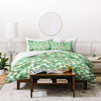 Lisa Argyropoulos Holiday Cheer Mint Duvet Cover