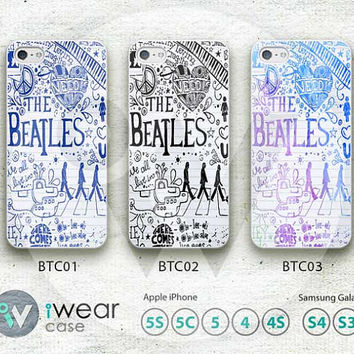 The Beatles iPhone 4 Case,The Beatles Lyric Custom iPhone 4 4g 4s Hard Case and Rubber Case, cover skin case for iphone 4/4g/4s case