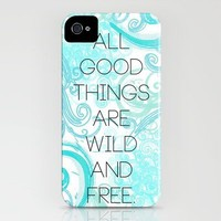 Wild and Free iPhone Case by Kayla Gordon | Society6