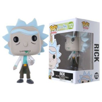 Rick and Morty Vinyl Pop Action Figure Toy Doll Best Kids Gift Collectible Toy