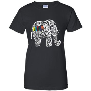 Autism Awareness Elephant T Shirt
