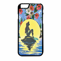 Disney Princess Ariel The Little Mermaid Floral Vintage iPhone 6 Plus Case