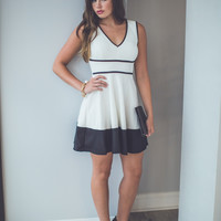 Go All Out Dress in White