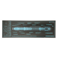Doctor Who 10th Doctor's Sonic Screwdriver Blueprint Poster