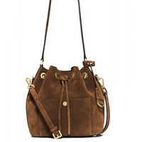 Michael Michael Kors Greenwich Suede Bucket Bag