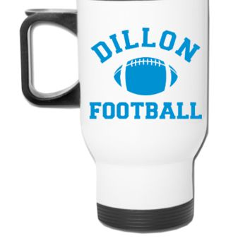Dillon Panthers Football - Travel Mug