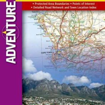 National Geographic Adventure Map South Africa (Adventure Map)