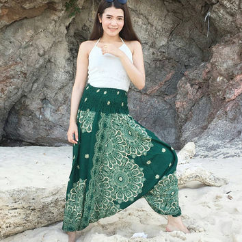 Hippie Pants,Harem Pants Women,Bohemian Pants,Ropa Boho Pants Women,Yoga Pants Women,Thai Harem Pants,Baggy Pants,Music Festival Pants.