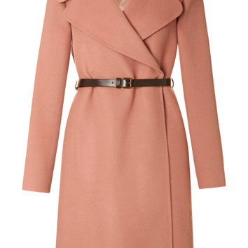 Double-Faced Cashmere Belted Coat by Marc Jacobs - Moda Operandi