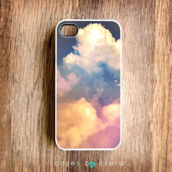 SALE  iPhone 5 Case iPhone 4 Case  Clouds iPhone 4 by casesbycsera