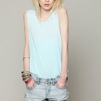 Free People We The Free Ombre Burnout Tank
