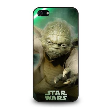 STAR WARS MASTER YODA iPhone 5 / 5S / SE Case Cover