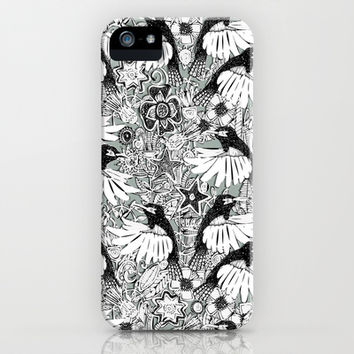 hummingbird heaven silver iPhone & iPod Case by Sharon Turner | Society6