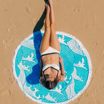 Lovely Pets Free shipping best quality Toilette Round Hippie Tapestry Beach Throw Roundie Towel Yoga Bohemian Mat