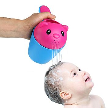2 colors summer bear kids baby shampoo shield shower cup cap visor hat brands baby bath toys tub bath products care for children