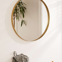Averly Large Circle Mirror - Urban Outfitters