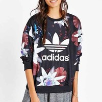 adidas Originals Lotus Print Sweatshirt