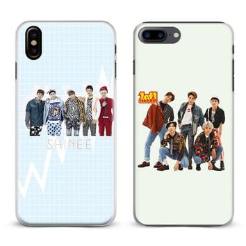 SHINee KPOP Boy group Coque Phone Case For Apple iPhone X 8Plus 8 7Plus 7 6sPlus 6s 6Plus 6 5 5S SE Cover Shell