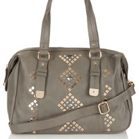 Geo Studded Holdall - Bags & Wallets  - Accessories