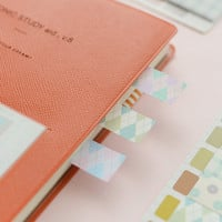 Pastel sticky notes natural pattern sticky note fancy Colorful dots Sticky flag Page flags planner flags note flags pastel page flags set