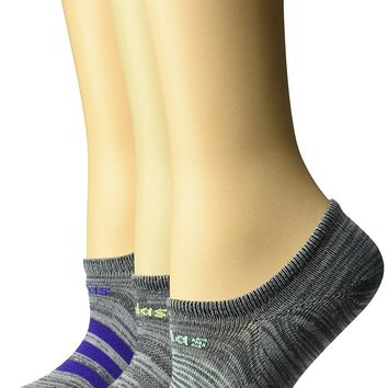 adidas Women's Superlite Super No Show Socks (3-Pack)