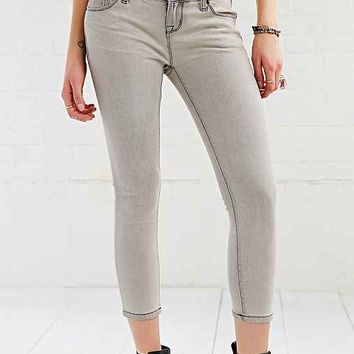 BDG Twig Low-Rise Cropped Jean - Jett Grey- Grey