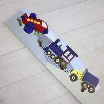 Transportation Wooden CLOTHES PEG Rack Bathroom Bedroom CR0010