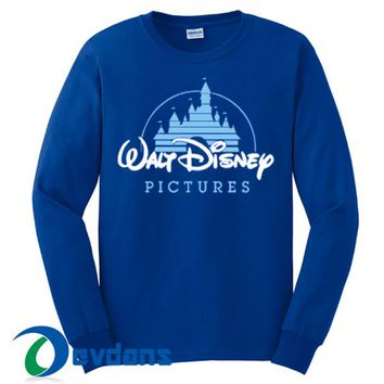 Walt Disney Pictures Sweatshirt Unisex Adult Size S to 3XL