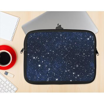 The Bright Starry Sky Ink-Fuzed NeoPrene MacBook Laptop Sleeve