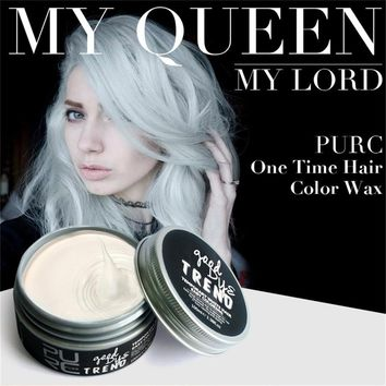 joyous Dye hair Cream, NEW DIY Hair Clay Wax Mud Dye Cream Grandma Hair Ash Dye Temporary#30